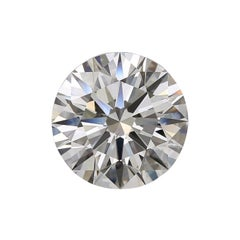 GIA Certified 10 Carat Round Brilliant Cut Diamond