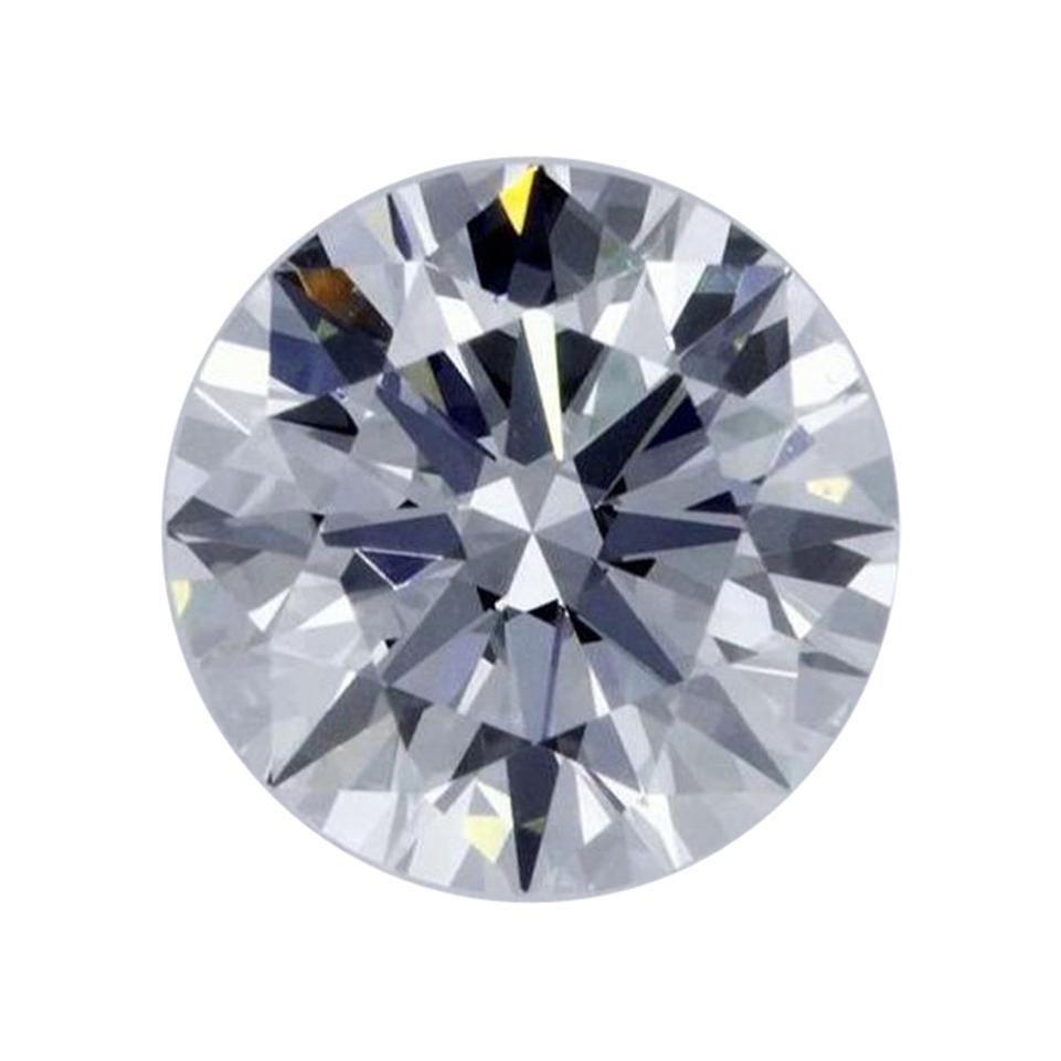 GIA Certified 1.01 Carat Brilliant Cut Loose Diamond D / VS1