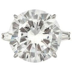 GIA Certified 10.12 Carat Diamond Ring