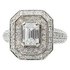 GIA Certified 1.07 Carat Type IIA Golconda Diamond Ring