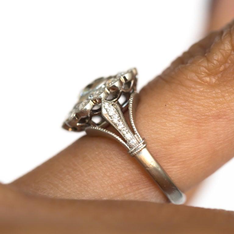 GIA Certified 1.20 Carat Diamond Platinum Engagement Ring For Sale 1