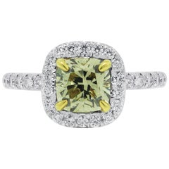 GIA Certified 1.23 Carat Diamond Engagement Ring