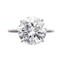 White Diamond Engagement Rings