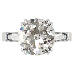 GIA Certified 2 Carat Diamond Ring