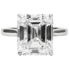 GIA Certified 1.21 Carat Diamond Ring G Color VVS2 Clarity