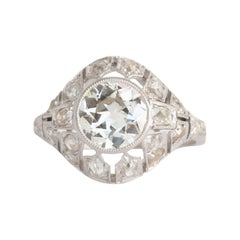 GIA Certified 1.57 Carat Diamond Engagement Ring