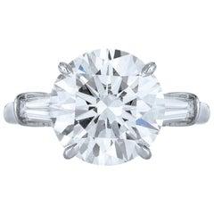 GIA Certified 1.80 Carat Engagement Ring