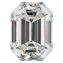 GIA Certified 19.43 Carat Emerald Cut Diamond, H-VVS2