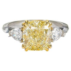 Modern Solitaire Rings