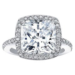 GIA Certified 2 Carat G SI1 Cushion Cut Diamond