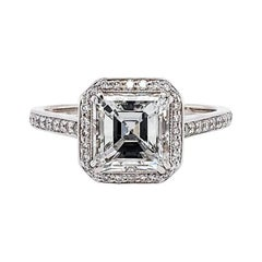 GIA Certified 2.02 Carat Diamond Engagement Ring