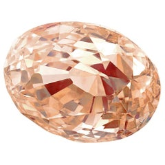 GIA Certified 2.34 Carat Oval Padparadscha Sapphire Loose Stone