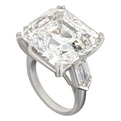GIA Certified 23.84 Carat Diamond Ring Mounting by Carvin French