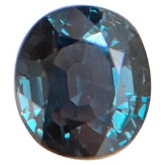 GIA Certified 2.49ct Colour Change Sapphire Blue Purple Untreated Oval Cut Gem