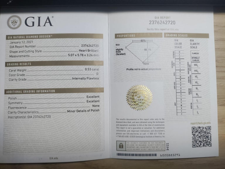GIA Certified 3.05 Carat Internally Flawless Fancy Yellow Oval Diamond Ring For Sale 3