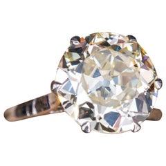EGL USA 2 Carat Old Cut Diamond Ring