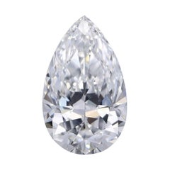 GIA Certified 4.01 Carat D Flawless Pear Diamond for Bespoke Jewel