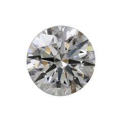 GIA Certified 4.03 Carat Round Brilliant Cut Diamond