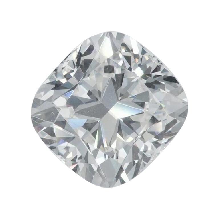 GIA Certified 4.04 Carat Cushion Cut Loose Diamond H / VS1