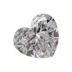 GIA Certified 4.12 Carat Heart Shape Diamond