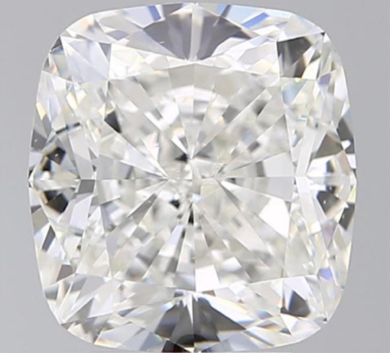 GIA Certified 4.50 Carat Cushion Cut Diamond Excellent Cut In New Condition In Rome, IT