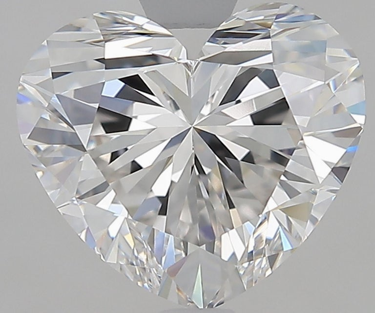 Heart Cut GIA Certified 4.50 Carat Heart Shape Diamond D Color VVS2 Necklace 18 Karat For Sale