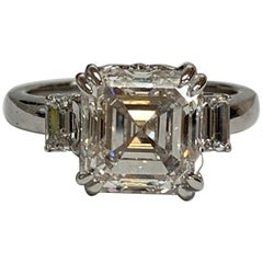 GIA Certified 4.69 Carat Diamond Ring