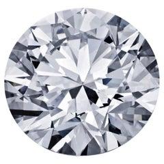 GIA Certified 5 Carat Round Cut Diamond Ring