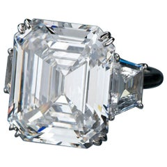 GIA Certified 4.53 Carat Emerald Cut Diamond Ring VS1