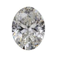 GIA Certified 5.02 Carat Oval Diamond
