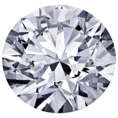 GIA Certified 5.03 Carat F VS2 Round Cut Diamond