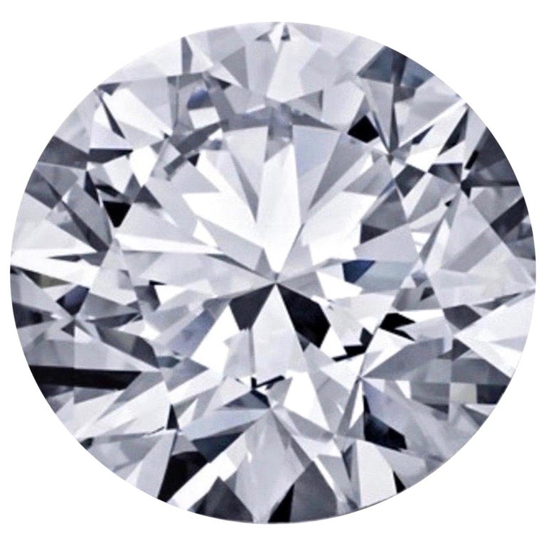 GIA Certified 5.03 Carat F VS2 Round Cut Diamond For Sale