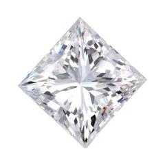 GIA Certified 5.03 Carat Princess Cut Diamond