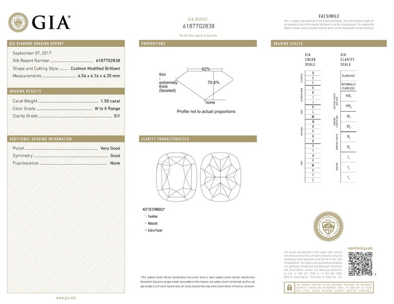 Round Cut GIA Certified 5.20 Carat Drop Diamond Earrings 18 Karat White Gold For Sale