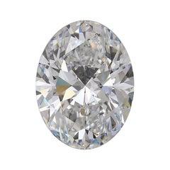 GIA Certified 5.25 Carat Oval Diamond