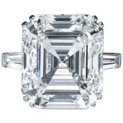 GIA Certified 5.50 Carat Asscher Cut Diamond SI1 Clarity F Color