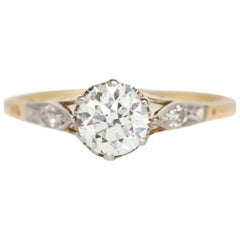 GIA Certified .57 Carat Diamond Engagement Ring