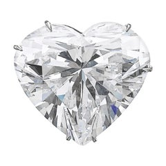 GIA Certified 5 Carat Heart-Cut Shape Diamond