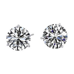 INVESTMENT GRADE IF D COLOR Gia Certified 3.13 Carats Studs