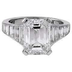 GIA Certified 6.04 Carat Diamond Engagement Ring