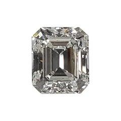 GIA Certified 6.41 Carat G VS2 Emerald Cut Diamond