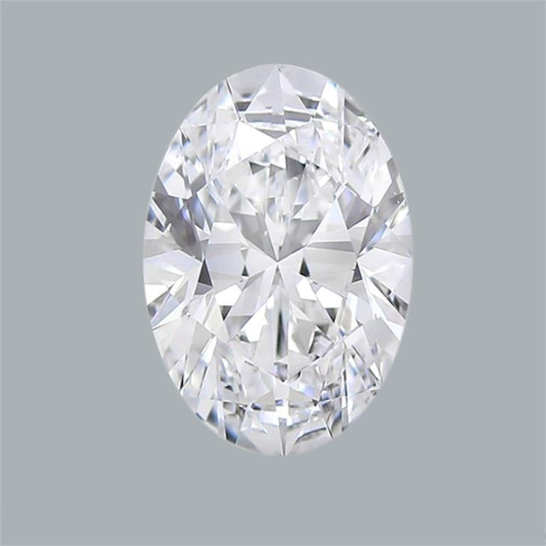 GIA Certified 8 Carat Oval Cut Diamond Ring F Color Si2 Clarity Triple Excellent In New Condition For Sale In Rome, IT