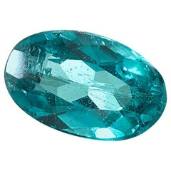 Brazilian Paraiba Tourmaline .37 ct. GIA, Unset Engagement Ring, Pendant Gem