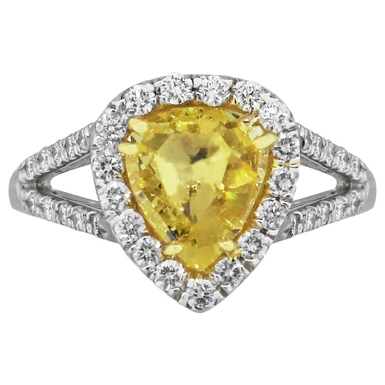 GIA Certified Diamond Engagement Ring For Sale