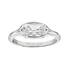 GIA Certified Diamond Platinum Ring by Siegelson New York