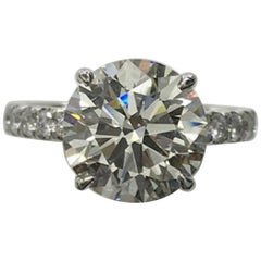 INTERNALLY FLAWLESS GIA Certified 1.50 Carat Solitaire Ring