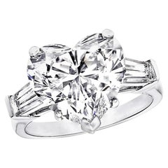 GIA Certified Natkina Customizable Engagement Ring Heart Diamond Cut