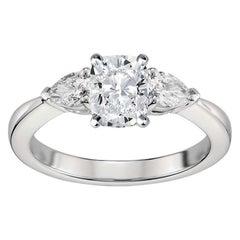 GIA Certified Natkina Engagement Ring Cushion Diamond Cut