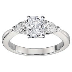 GIA Certified Natkina Engagement Ring Cushion Diamond Cut