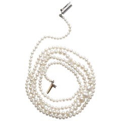 GIA Certified Natural Saltwater Pearl Necklace